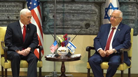 At-A-Press-Conference-With-Israeli-President-Rivlin-Mike-Pence-Explains-Why-America-Has-Decided-To-Recognize-Jerusalem-As-The-Capital