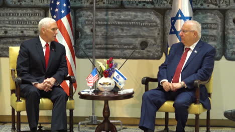 Mike-Pence-Thanks-Israeli-President-Rivlin-For-Being-A-Gracious-Host