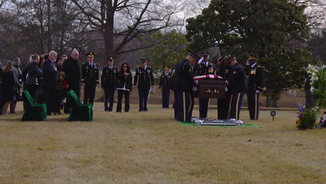 Us-Army-Sgt-1St-Class-Mihail-Golin-Is-Laid-To-Rest-At-Arlington