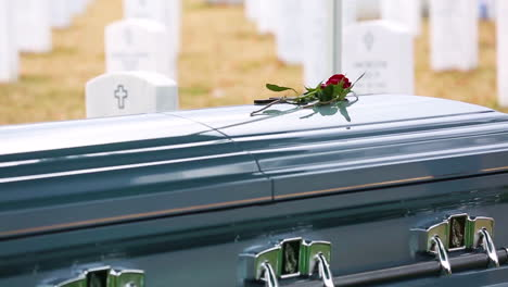 Mourners-Come-To-Sgt-Catherine-Murrays-Casket-At-Arlington