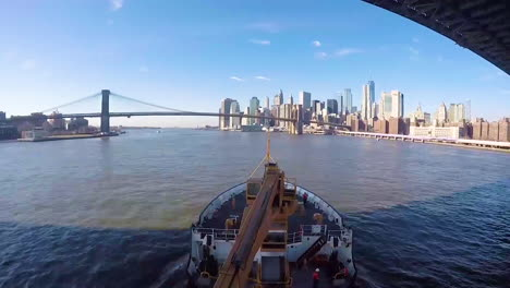The-Freedom-Tower-Is-Prominent-Among-New-Yorks-Skyline-As-The-Us-Coast-Guard-Cutter-Willow-Moves-Down-The-Hudson