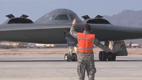 A-B2-Spirit-Stealth-Taxis-At-Whiteman-Air-Force-Base
