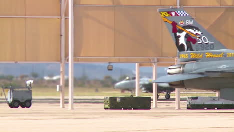 F22-Jets-Are-Seen-Taxiing-At-An-Air-Force-Base