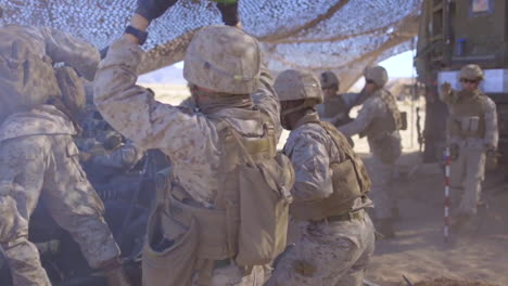 Us-Marines-Participate-In-A-Fire-Support-Coordination-Exercise-At-The-Marine-Corps-Air-Ground-Combat-Center-In-Twentynine-Palms-California