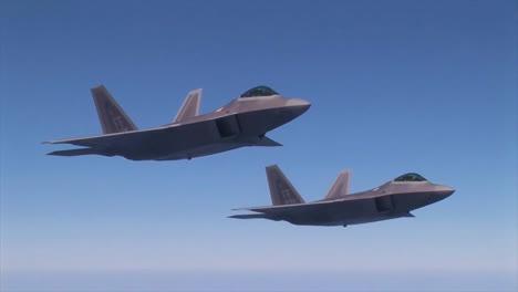 F22S-Are-Seen-In-Flight