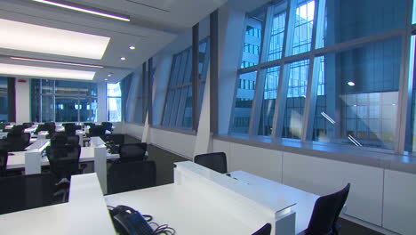 An-Empty-Office-At-The-New-Nato-Headquarters-Is-Shown