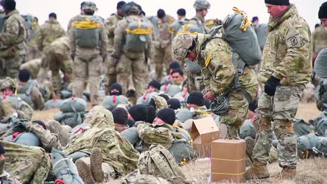 Us-Army-Paratroopers-Of-The-173Rd-Airborne-Brigade-Conduct-Parachute-Drops-At-The-Grafenwoehr-Training-Area-In-Germany