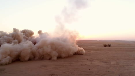 American-Soldiers-Conduct-Fire-Mission-Training-Drills-With-A-Highmobility-Artillery-Rocket-System-In-A-Syrian-Desert