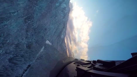 Footage-Shot-From-The-Cockpit-Of-A-Usaf-Plane-As-It-Flies-Over-Wintry-Forests-And-Mountains-1