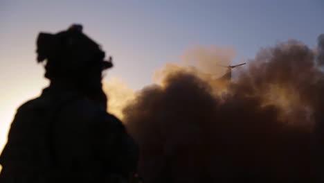 A-Us-Marine-MV22-Osprey-Lands-Near-The-Iraqisyrian-Border