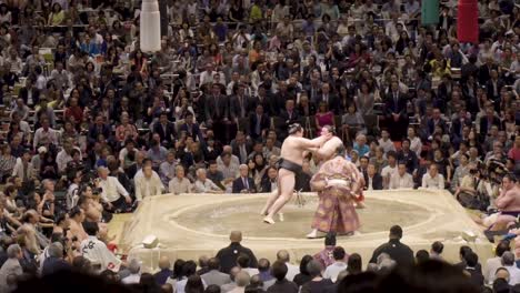 President-Donald-Trump-And-First-Lady-Melania-Trump-Attend-A-Sumo-Wrestling-Match-In-Japan-2019
