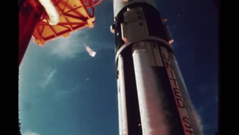 the-Apollo-7-Rocket-As-Its-Taking-Off-From-Its-Launch-Pad-Slow-Motion-1968