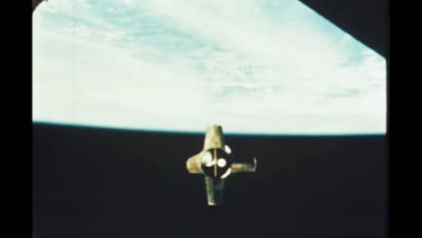 the-Apollo-7-In-Orbit-Around-the-Earth-1968