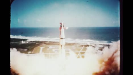 Slow-Motion-Launch-Pad-Footage-Of-the-Rocket-Engines-Firing-Up-On-the-Apollo-7-Mission