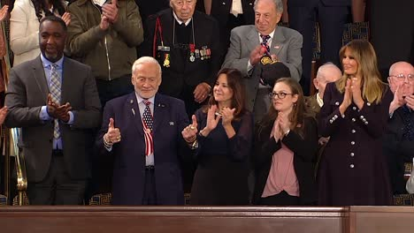 Donald-Trump-Gives-A-Speech-To-Congress-About-Choosing-American-Greatness-While-A-Montage-Of-American-Achievements-Plays-Over-It-2019