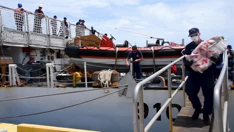 the-Us-Coast-Guard-Cutter-Offloads-$2-Million-Worth-Interdicted-Drugs-In-Key-West