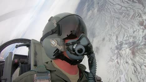 Cockpit-View-Of-A-Pilot-As-He-Maneuvers-A-Military-Jet-Red-Flag-191-Exercise-Nellis-Air-Force-Base-2019