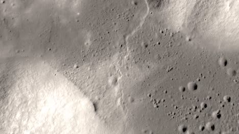 Simulated-Aerial-Of-the-Landing-Location-Of-Apollo-17-On-Lunar-Surface