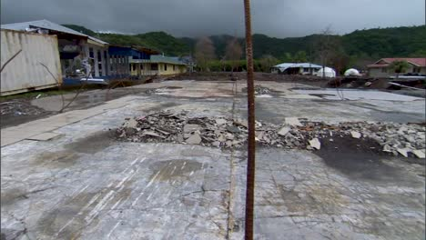 A-Town-In-the-American-Samoa-After-Being-Devastated-By-A-Tsunami-In-2009