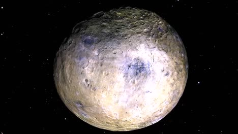 the-Dwarf-Planet-Ceres-Is-Seen-In-Rotation