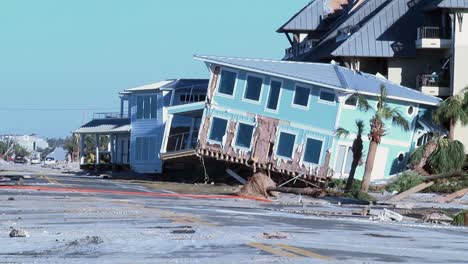 Wreckage-Left-In-the-Wake-Of-Hurricane-Michael-Is-Seen-On-the-Beaches-Of-Panama-City-Florida