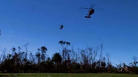 Florida-National-Guardsmen-Land-In-Panama-City-Via-Helicopter