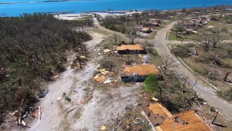 An-Aerial-View-Shows-Housing-At-the-Tyndall-Air-Force-Base-Destroyed-By-Hurricane-Michael-1