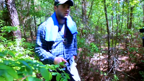 Cal-U-Students-Who-Belong-To-A-Wildlife-Society-Capture-And-Release-A-Delmarva-Fox-Squirrel