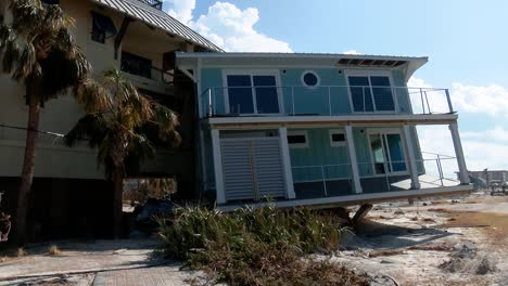 A-Home-Completely-Swept-Away-By-Hurricane-Michael-Slammed-Into-An-Apartment-In-Mexico-Beach-Florida-2018