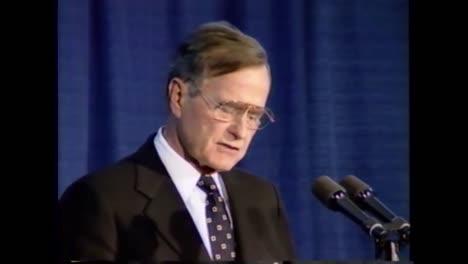 El-Presidente-George-Hw-Bush-Habla-Sobre-La-Necesidad-De-Inteligencia-Durante-Su-Discurso-De-Despedida-De-La-Cia-El-8-De-Enero-De-1993