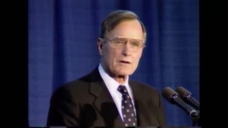 El-Presidente-George-Hw-Bush-Habla-Sobre-La-Comunidad-De-Inteligencia-Durante-Su-Discurso-De-Despedida-De-La-Cia-El-8-De-Enero-De-1993