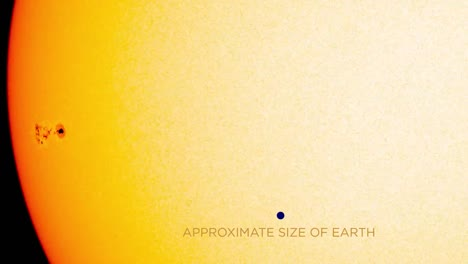 Nasas-Sdo-Solar-Dynamics-Observatory-Watches-A-Sunspot-Turn-Toward-Earth