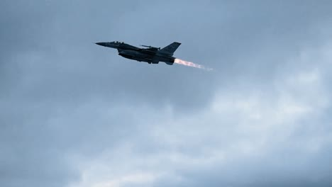 Several-F16S-Take-Off-During-Nato-Exercise-Trident-Juncture-2018