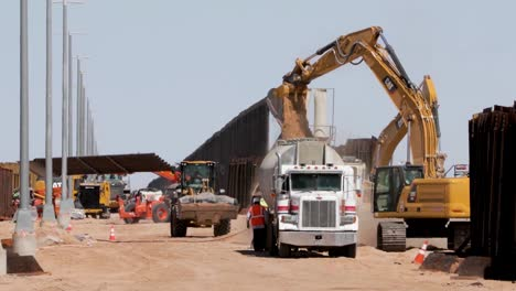 New-Bollard-Border-Wall-Construction-In-Place-Of-Antiquated-Infrastructure-Near-Yuma-Az-2019
