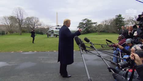 President-Trump-Speaks-To-the-Press-Before-Departing-About-What-Hell-Be-Doing-On-A-Trip-To-Florida-2019