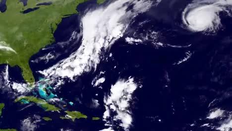 Satellite-Image-Showing-Hurricane-Eduardo-Over-North-America-September-2014