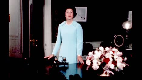 Claudia-Lady-Bird-Johnson-Tells-Stories-Of-Treaty-Signings-In-the-Living-Quarters-Of-the-White-House-1960S