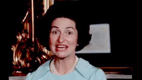 Claudia-Lady-Bird-Johnson-Tells-Stories-Of-Library-Committee-Meetings-In-the-Treaty-Room-In-the-Living-Quarters-Of-the-White-House-1960S