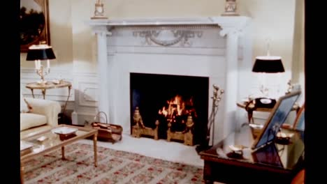 Claudia-Lady-Bird-Johnson-Tells-Stories-About-the-Yellow-Oval-Room-In-the-Living-Quarters-Of-the-White-House-1960S