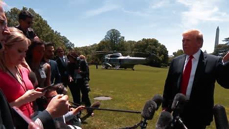 President-Trump-Speaks-To-the-Press-About-His-Poll-Numbers-Being-Very-Good-And-the-Fake-News-Media-Bringing-His-Numbers-Down-2019