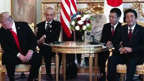 El-Presidente-Trump-Y-El-Primer-Ministro-De-Japón-Shinzo-Abe-Participan-En-Una-Reunión-Bilateral-Y-Conferencia-De-Prensa-2019