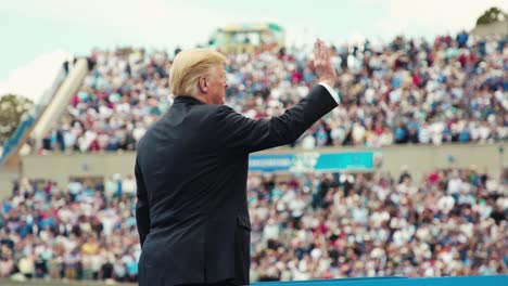 Presidente-Trump-Pronuncia-Comentarios-En-La-Ceremonia-De-Graduación-De-La-Academia-De-La-Fuerza-Aérea-De-Los-Estados-Unidos-Silencioso-2019