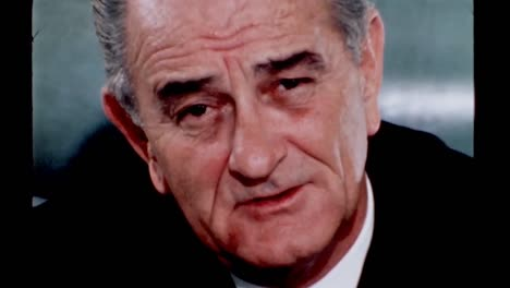President-Lyndon-B-Johnson-Reflects-On-Making-Mistakes-But-Persisting-To-Do-What-Is-Right-1960S