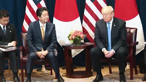 President-Trump-And-Japanese-Prime-Minister-Shinzo-Abe-Praise-Each-Other-In-A-Press-Conference-2019