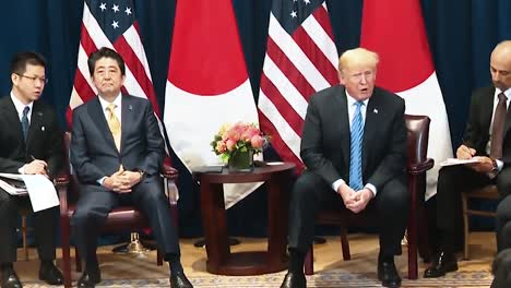 President-Trump-Speaks-About-the-Farmers-In-America-Being-Hurt-Economically-Press-Conference-With-Japanese-Prime-Minister-Shinzo-Abe-2019