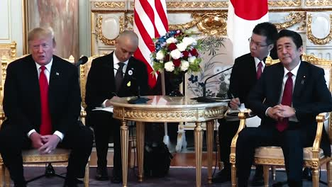 President-Trump-Speaks-About-the-Respect-Between-the-Us-And-North-Korea-Press-Conference-With-Japanese-Prime-Minister-Shinzo-Abe-2019