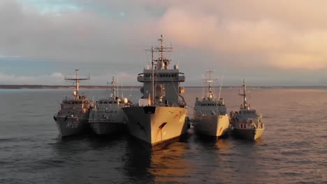 Drone-Aerial-Footage-Of-Ships-Involved-In-the-Nato-Allies-Naval-Exercise-Baltops-In-the-Baltic-Sea