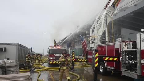 Firetruck-And-Crew-Fight-A-Fire-On-Amphibious-Assault-Ship-Uss-Bonhomme-Richard-Dockside-At-Naval-Base-San-Diego-Ca-1
