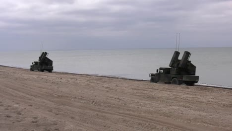 Us-Army-5th-Battalion-4th-Air-Defense-Artillery-Regiment-Conducts-Military-Exercises-With-Latvia-And-Lithuania-In-Latvia