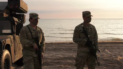 Us-Army-5th-Battalion-4th-Air-Defense-Artillery-Regiment-Conducts-Military-Exercises-With-Latvia-And-Lithuania-In-Latvia-4